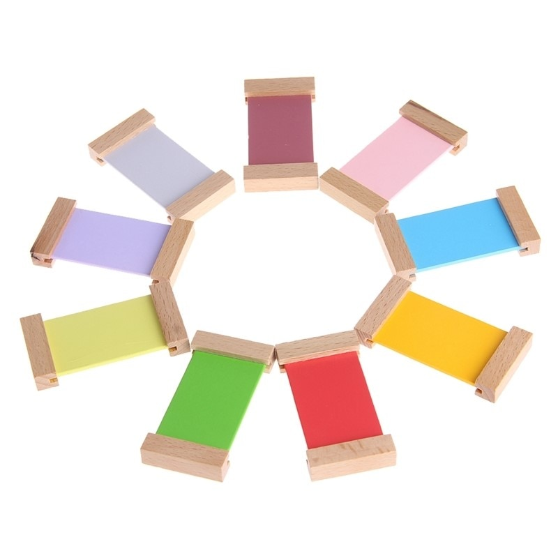 Wooden Colour Perception Tablet for Early Learning