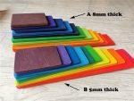rainbow slot A 8mm