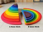 semi rainbow A 8mm